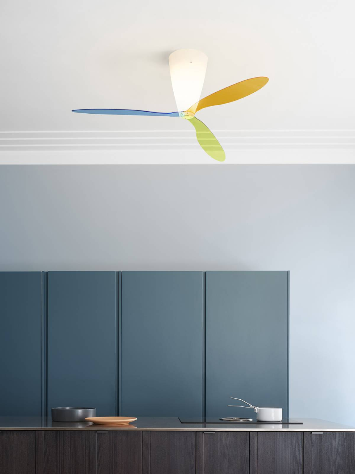 Blow suspension lamp Luceplan