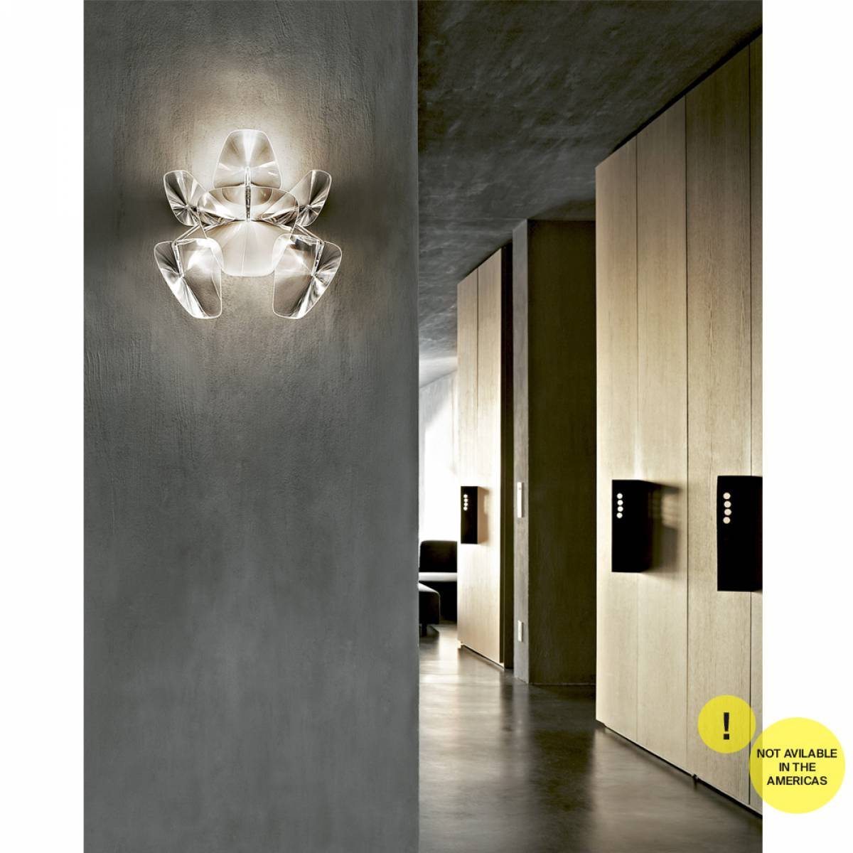 2 Hope wall lamp Luceplan