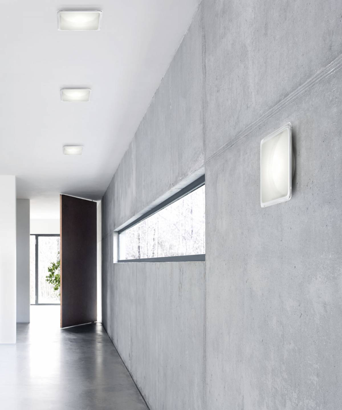 Illusion wall lamp Luceplan