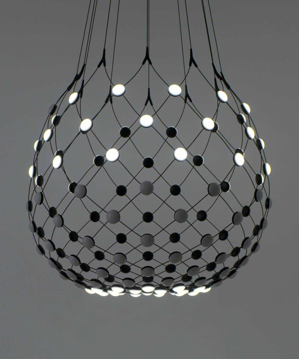 Mesh wireless lamp Luceplan