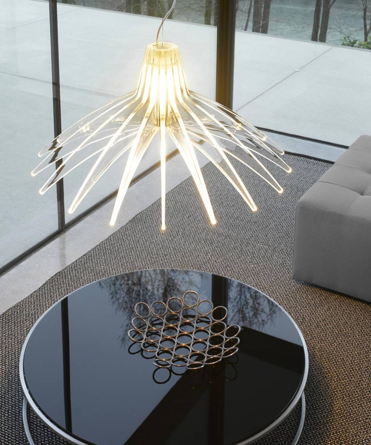 Agave suspension lamp Luceplan