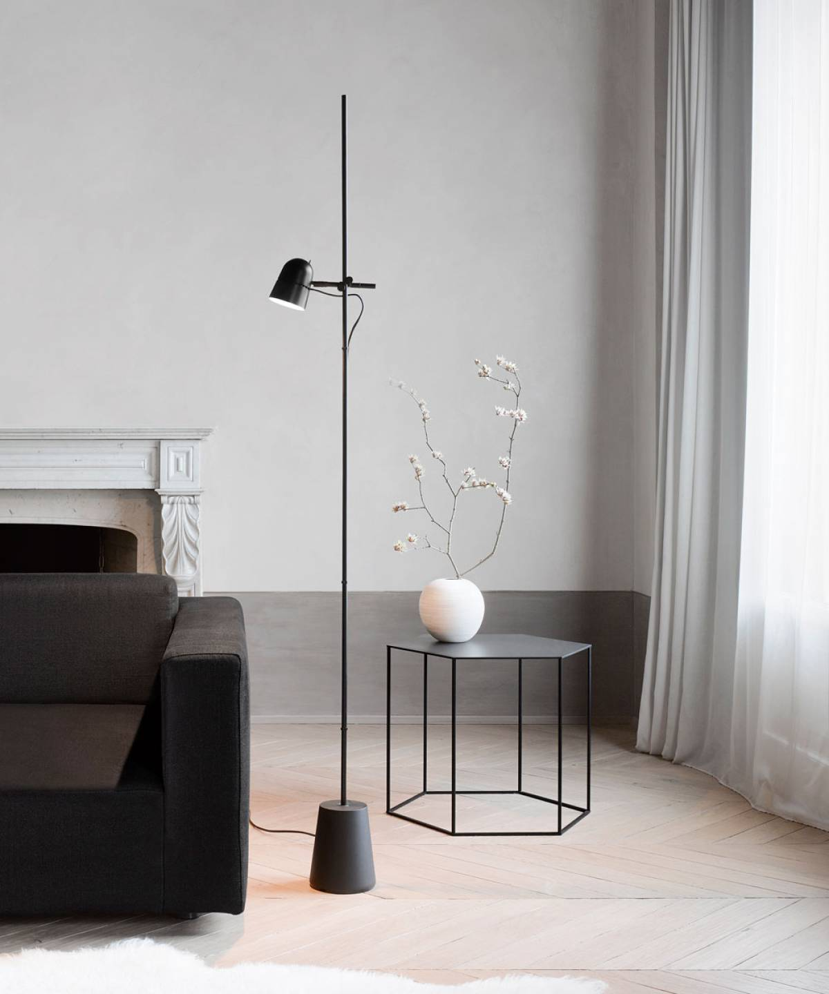 1 Counterbalance floor lamp Luceplan