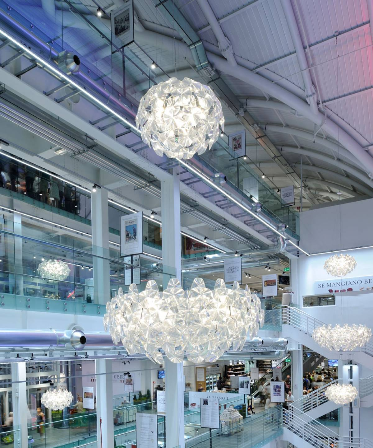 3 Hope suspension lamp Luceplan