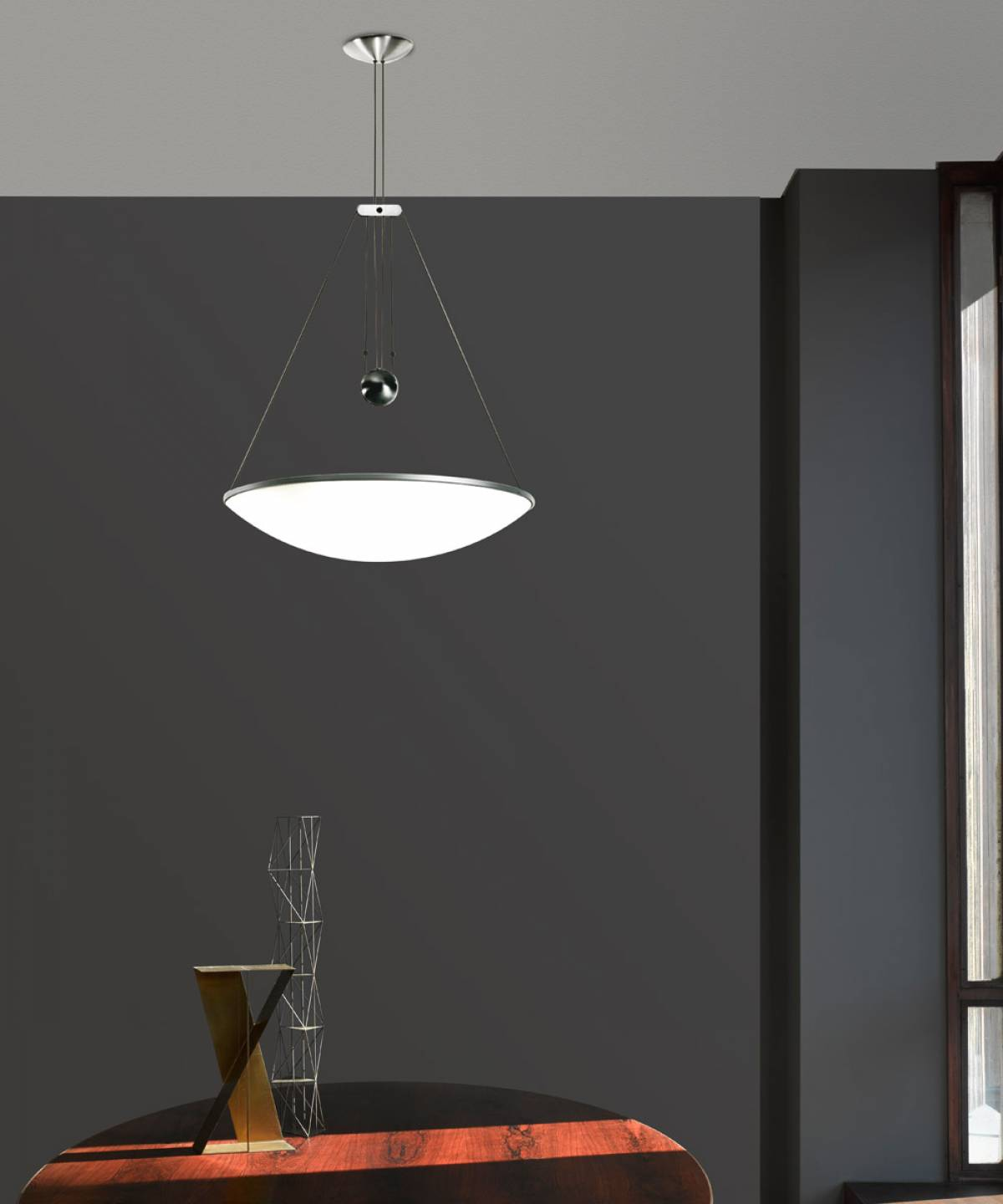 Trama suspension lamp Luceplan